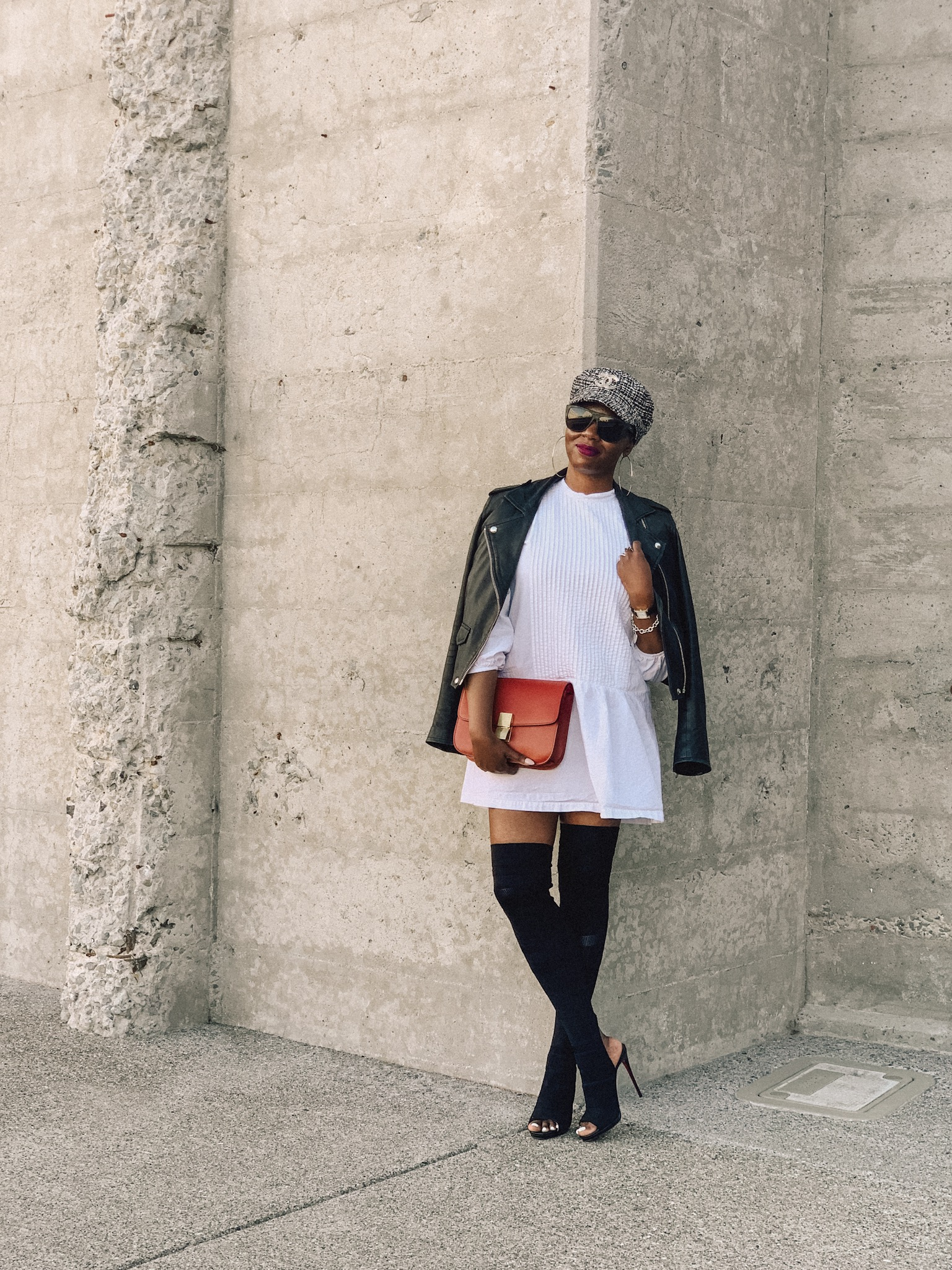 San Francisco Style Blogger Amber Richele Of The Cocoa Butter Diaries Shares Her Struggle With Receiving Compliments